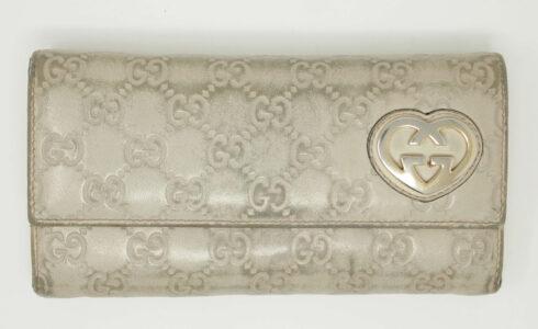 グッチの財布クリーニング事例